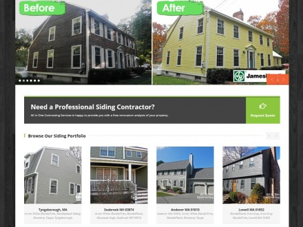 All in One Contracting Responsive Website Design
