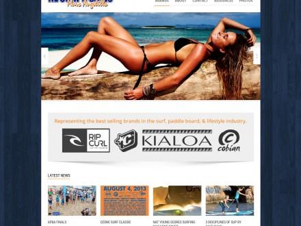 New Responsive Website for NE Surf & Sales